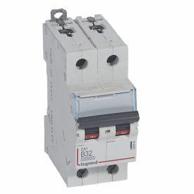 Legrand DX3 Автоматический выключатель 2P 32A (B) 10kA/16kA