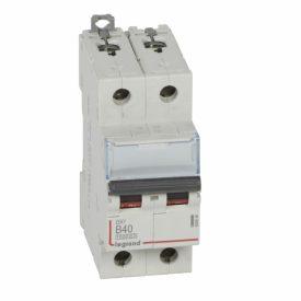 Legrand DX3 Автоматический выключатель 2P 40A (B) 10kA/16kA