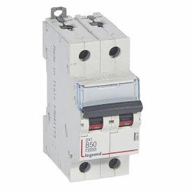 Legrand DX3 Автоматический выключатель 2P 50A (B) 10kA/16kA