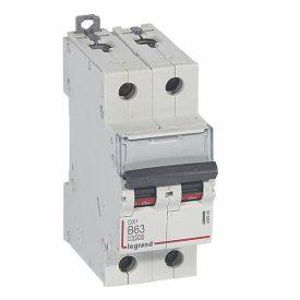 Legrand DX3 Автоматический выключатель 2P 63A (B) 10kA/16kA