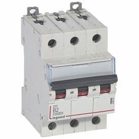 Legrand DX3 Автоматический выключатель 3P 2A (B) 10kA/16kA