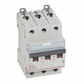 Legrand DX3 Автоматический выключатель 3P 16A (B) 10kA/16kA