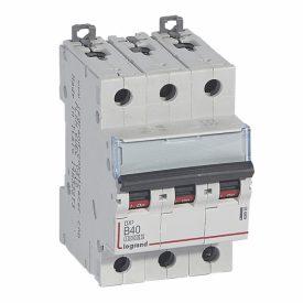 Legrand DX3 Автоматический выключатель 3P 40A (B) 10kA/16kA