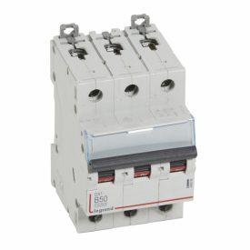 Legrand DX3 Автоматический выключатель 3P 50A (B) 10kA/16kA