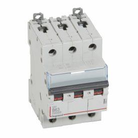 Legrand DX3 Автоматический выключатель 3P 63A (B) 10kA/16kA