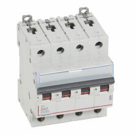 Legrand DX3 Автоматический выключатель 4P 40A (B) 10kA/16kA