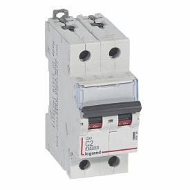 Legrand DX3 Автоматический выключатель 2P 2A (С) 10kA/16kA