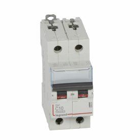 Legrand DX3 Автоматический выключатель 2P 10A (С) 10kA/16kA