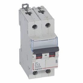 Legrand DX3 Автоматический выключатель 2P 13A (С) 10kA/16kA