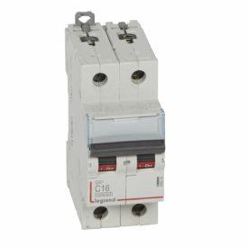 Legrand DX3 Автоматический выключатель 2P 16A (С) 10kA/16kA