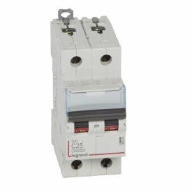 Legrand DX3 Автоматический выключатель 2P 25A (С) 10kA/16kA