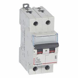 Legrand DX3 Автоматический выключатель 2P 50A (С) 10kA/16kA