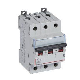 Legrand DX3 Автоматический выключатель 3P 0,5A (С) 10kA/16kA