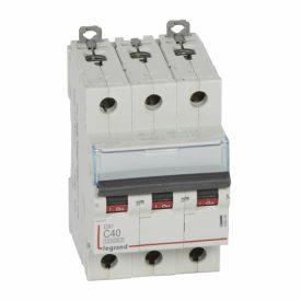 Legrand DX3 Автоматический выключатель 3P 40A (С) 10kA/16kA