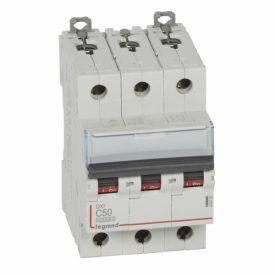 Legrand DX3 Автоматический выключатель 3P 50A (С) 10kA/16kA