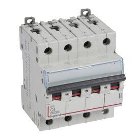 Legrand DX3 Автоматический выключатель 4P 4A (С) 10kA/16kA