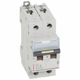 Legrand DX3 DC Автоматический выключатель 2P 1,6A (С) 10/16kA