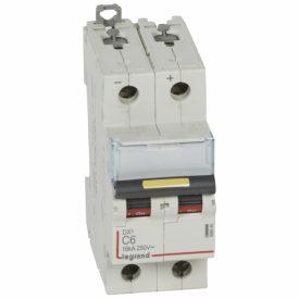 Legrand DX3 DC Автоматический выключатель 2P 6A (С) 10/16kA