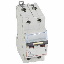 Legrand DX3 DC Автоматический выключатель 2P 8A (С) 10/16kA