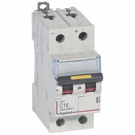 Legrand DX3 DC Автоматический выключатель 2P 16A (С) 10/16kA
