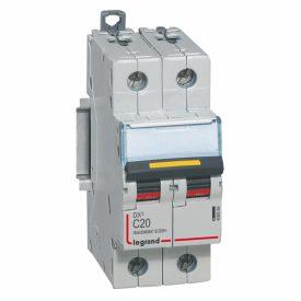 Legrand DX3 DC Автоматический выключатель 2P 20A (С) 10/16kA