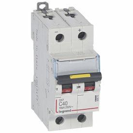 Legrand DX3 DC Автоматический выключатель 2P 40A (С) 10/16kA