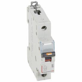 Legrand DX3 Автоматический выключатель 1P 2A (С) 25кА