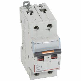 Legrand DX3 Автоматический выключатель 2P MA 4A 25кА