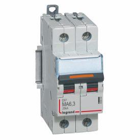 Legrand DX3 Автоматический выключатель 2P MA 6,3A 25кА