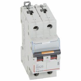 Legrand DX3 Автоматический выключатель 2P MA 25A 25кА