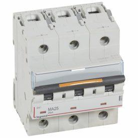 Legrand DX3 Автоматический выключатель 3P MA 25A 25кА