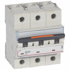 Legrand DX3 Автоматический выключатель 3P MA 40A 25кА