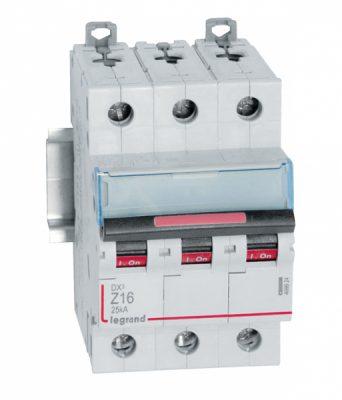 Legrand DX3 Автоматический выключатель 3P 16A (Z) 25kA