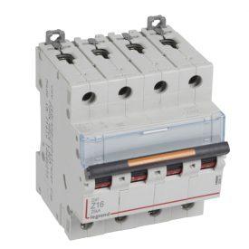 Legrand DX3 Автоматический выключатель 4P 16A (Z) 25kA