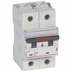 Legrand DX3 Автоматический выключатель 2P 16A (C) 36кА