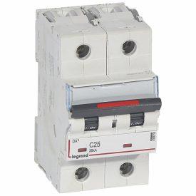 Legrand DX3 Автоматический выключатель 2P 25A (C) 36кА