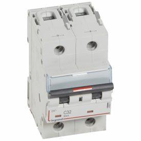 Legrand DX3 Автоматический выключатель 2P 32А (C) 36кА