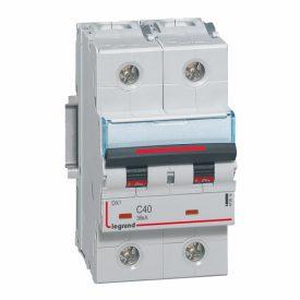 Legrand DX3 Автоматический выключатель 2P 40A (C) 36кА