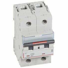 Legrand DX3 Автоматический выключатель 2P 50A (C) 36кА