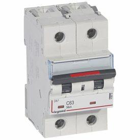 Legrand DX3 Автоматический выключатель 2P 63A (C) 36kA