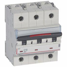Legrand DX3 Автоматический выключатель 3P 10A (C) 36кА