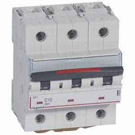 Legrand DX3 Автоматический выключатель 3P 16A (C) 36кА