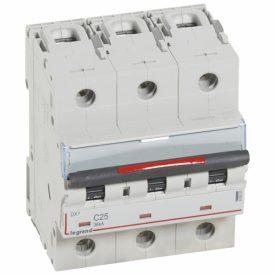 Legrand DX3 Автоматический выключатель 3P 25A (C) 36кА