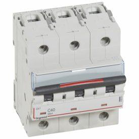Legrand DX3 Автоматический выключатель 3P 40A (C) 36кА