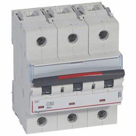 Legrand DX3 Автоматический выключатель 3P 50A (C) 36кА