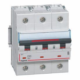 Legrand DX3 Автоматический выключатель 3P 63A (C) 36kA