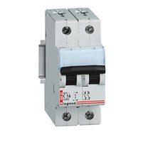Legrand DX CT Автоматический выключатель 2P 10A (C) 6kA