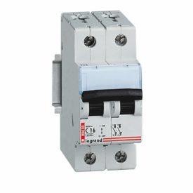 Legrand DX CT Автоматический выключатель 2P 16A (C) 6kA