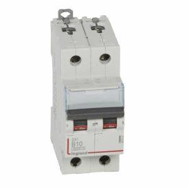 Legrand DX3 Автоматический выключатель 2P 10A (B) 6000/10kA