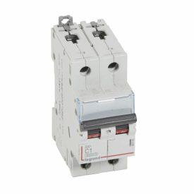 Legrand Выключатель автоматический DX3 6000 10кА  тип характеристики C 2П 230/400 В~ 1 А